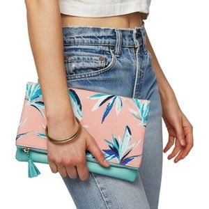 Rachel Pally LE Tropical Print Reversible Clutch